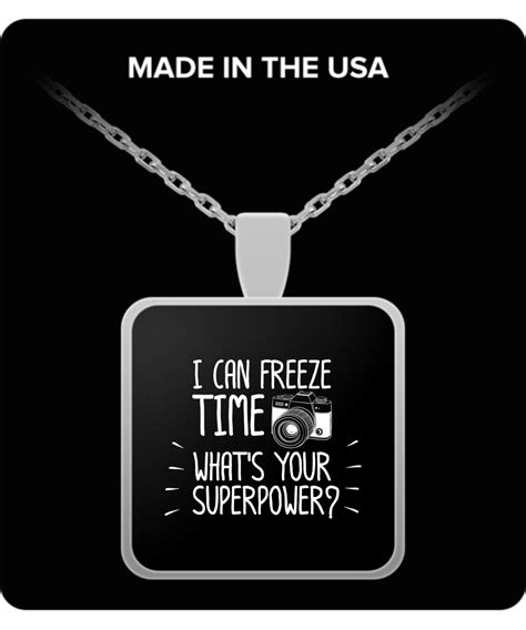 Where Can I Buy An International Visa Gift Card - photographer i can freeze time photography gift necklace