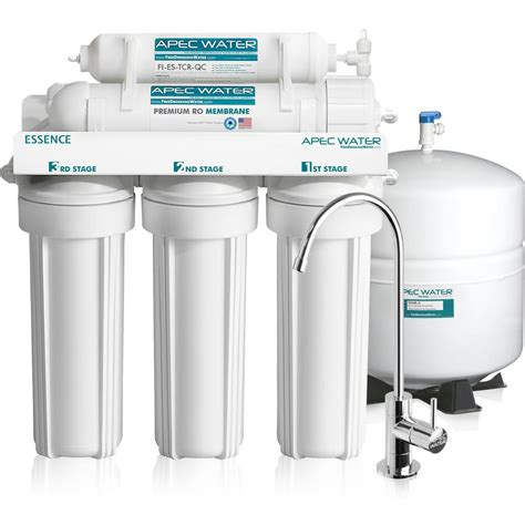 reverse osmosis under sink system apec water systems essence premium quality 5 stage under