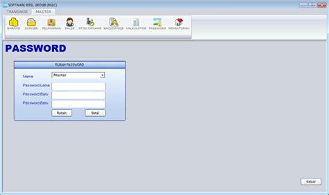 Software Program Aplikasi Kasir Toko Obat Obatan Toko 1d 1 software kasir toko sannis