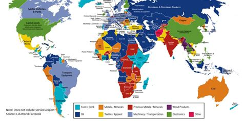 map  countrys major export baml business insider