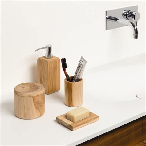 Teak Wood Bathroom Accessories Buy Moeve Teak Wood Soap Dish Amara