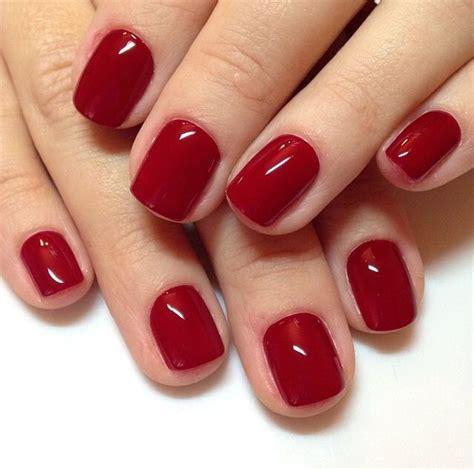 Cool Red Nail Color | trend unghie primavera estate 2015