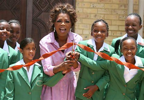 Oprah Opens Second School In Africa by Oprah Winfrey Academy Of Achievement