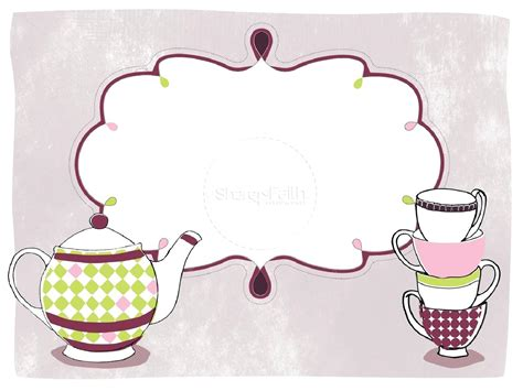 afternoon tea menu template template high tea template