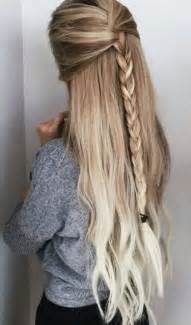 easy hairstyles for hair 25 best ideas about summer hair on pinterest colored