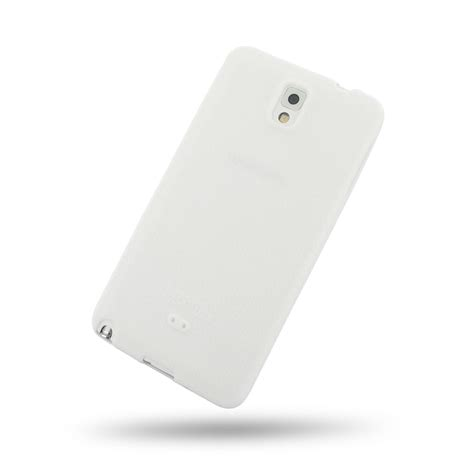 Softcase Samsung Note 3 samsung galaxy note 3 luxury silicone soft white pdair