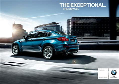 bmw advertisement the bmw x6 on behance