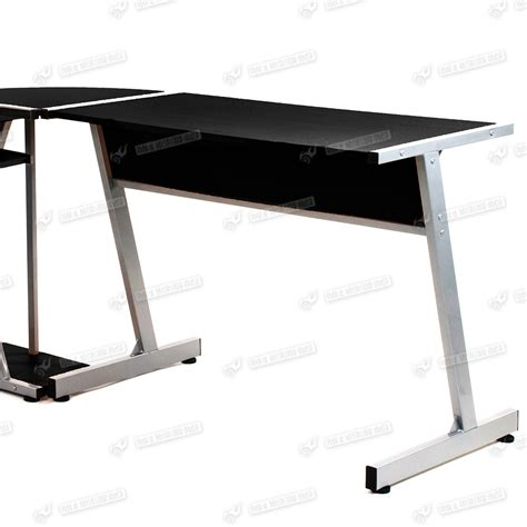 student desk l l shaped student desk new santorini l shaped glass
