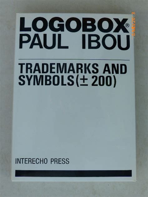 logo book paul ibou lot with 2 books by paul ibou on commercial logos catawiki