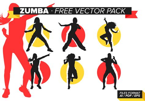 zumba tutorial free download zumba free vector pack download free vector art stock