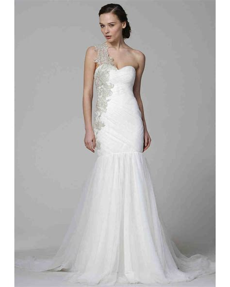 One Shoulder Wedding Dress by One Shoulder Wedding Dresses 2013 Bridal Fashion