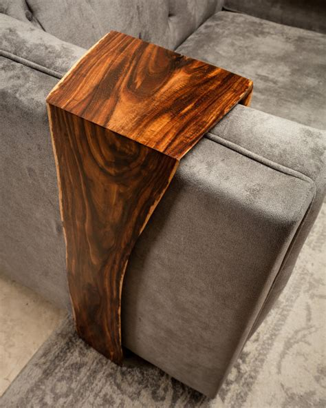 live couch live edge couch wrap table