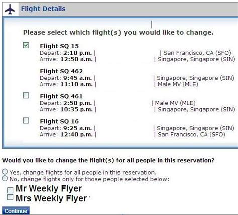 change flight fee united united airlines change flight changing singapore airlines first class award on united