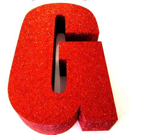 lettere glitter glitter letters 3d letters