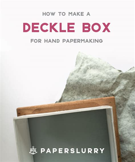 Handmade Paper Manufacturing Process - how to make a deckle box for papermaking part 1