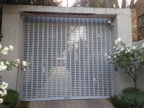perforated shutter doors cost effective elegant