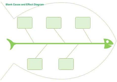 Fish Diagram Template Free Fishbone Diagram Template 12 Blank Word Excel Template Section
