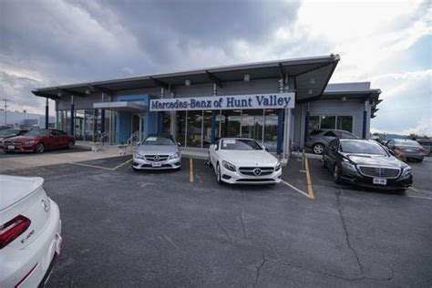 Mercedes Hunt Valley by Mercedes Of Hunt Valley Car Dealership In
