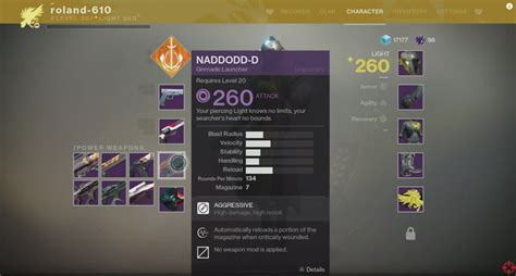 destiny 2 highest light level destiny 2 weapons will have mods light level returning