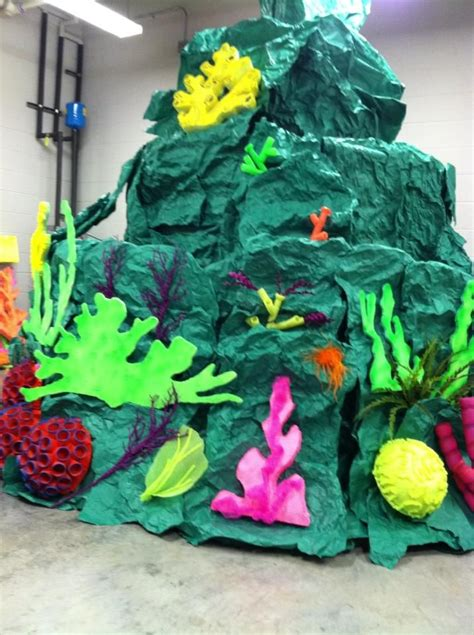 How To Make Coral Out Of Paper - 17 best ideas about stage props on stage