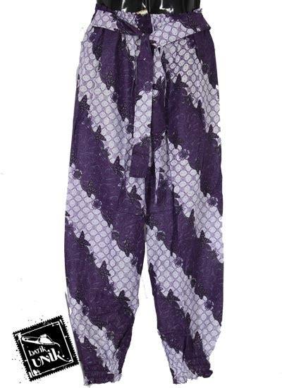Pgp Celana Santai Motif Celana Aladin Murah Celana Wanita baju batik celana aladin katun motif kawung regolan