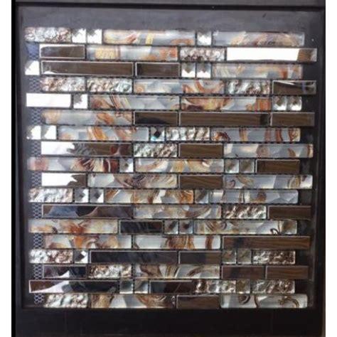 diamond glass tiles for kitchen backsplash silver