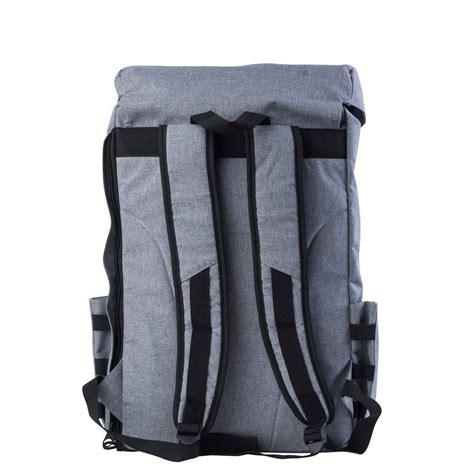 PKG Backpack Drawstring Pack   Light Grey   Wallets Online