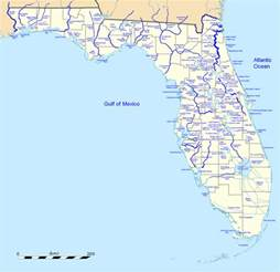 florida river map list of rivers of florida