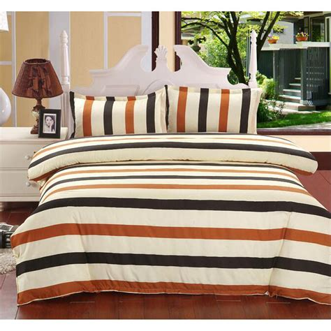sarung bedcover sprei set 1 5 meter model stripe black jakartanotebook