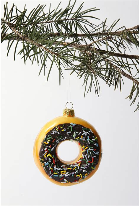 picture of big donut christmas tree ornament