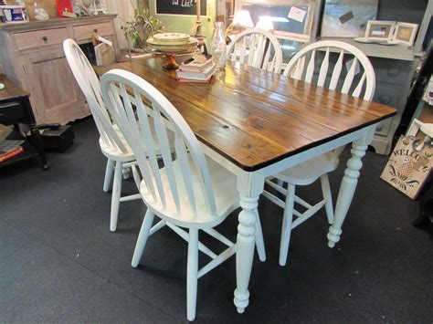 country table and chairs country home farm table and chair set just tables