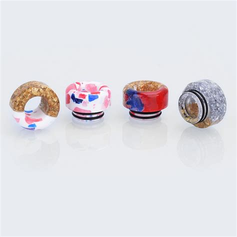 Sale Resin Summit For Rda Goon 810 resin 12mm drip tip for tfv8 tfv12 goon kennedy battle