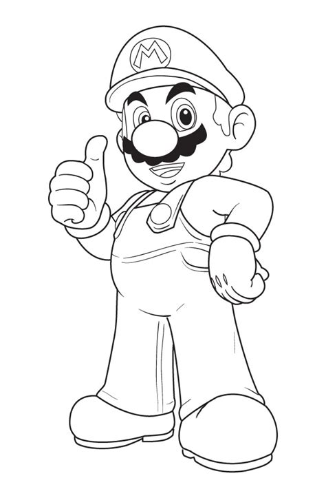 coloring page mario free printable coloring pages cool coloring pages super