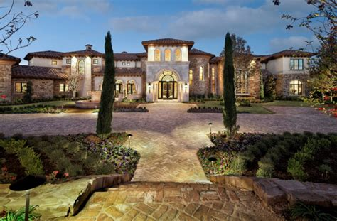 16 000 square foot mediterranean style mansion in westlake