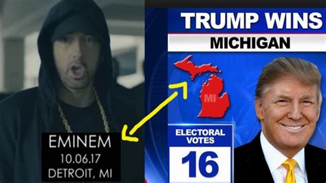 eminem youtube trump eminem gives finger to trump supporters in rap video youtube