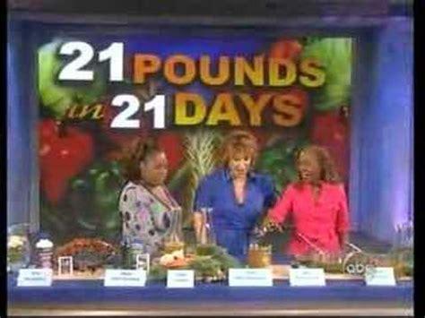 Martha S Vineyard Detox by Dr Roni Deluz On The View Martha S Vineyard Diet Detox