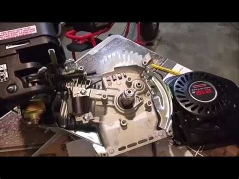 predator hemi  governor  oil sensor flywheel  oil sensor removal youtube