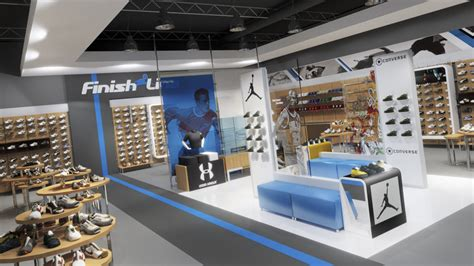 Finish Line Upholstery by Retail Archives Rob Turner Studios 3d Architecture