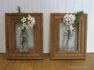 Picture Frame Vase by Combining Upcycled Pieces To Create Something Fresh The