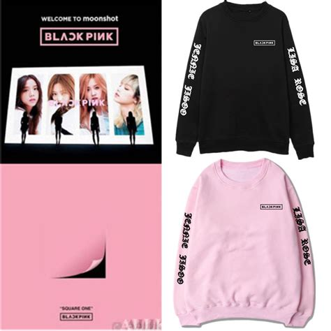 blackpink official merch kpop blackpink square two stay sweatershirt lisa sweater