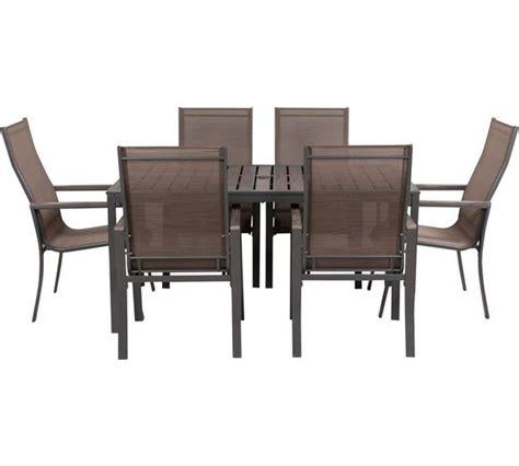 Buy Amalfi 6 Seater Patio Furniture Dining Set at Argos.co