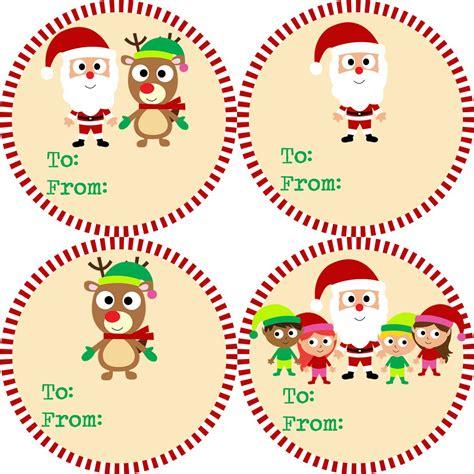Etiketten Aufkleber Weihnachten by Gift Tag Stickers And Green Striped Santa