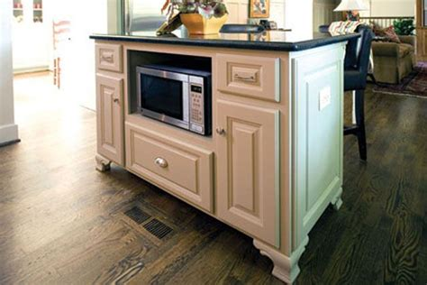 microwave in kitchen island island with microwave kitchen ideas pinterest