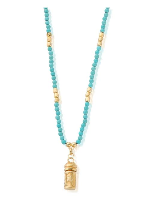 prayer necklace chlobo sun turquoise necklace with prayer pendant gold