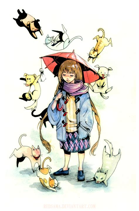 raining cats and dogs cats and dogs by redsama on deviantart