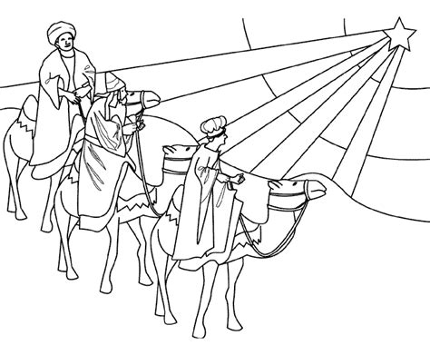 coloring page three kings coloring pages 1