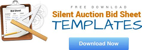 buy and bid bid sheets 101 improve your silent auction with better