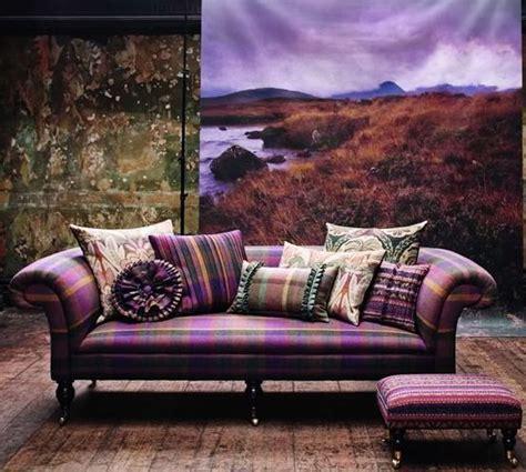interior design gift cards heather interior designheather interior design soft purple tartan on an elegant sofa tartan