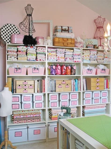 how to organize a sewing craft room gorgeous sewing room sewing spaces organisation and