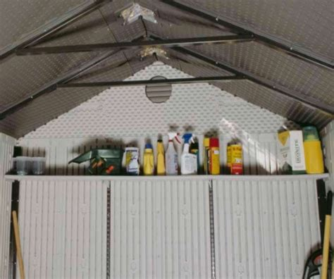 Lifetime Storage Shed Accessories by Lifetime Storage Shed Accessory 0150 Width Shelf For